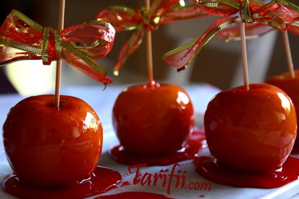 Basit Elma Şekeri Yapma