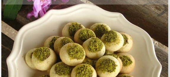 antep fıstıklı kestaneli kurabiye tarifi