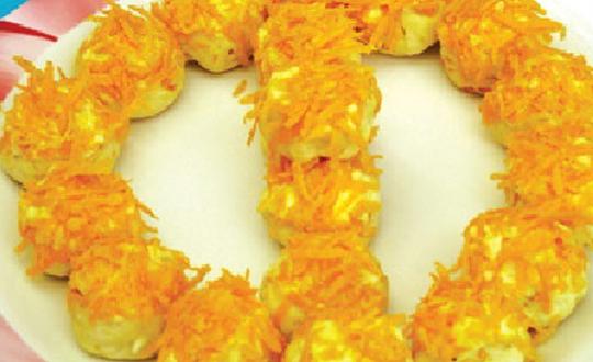 portakallı narlı kurabiye tarifi